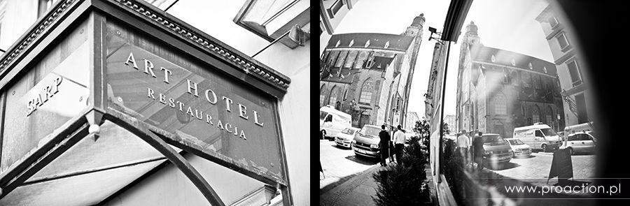 Fotografia ślubna Art Hotel Wrocław