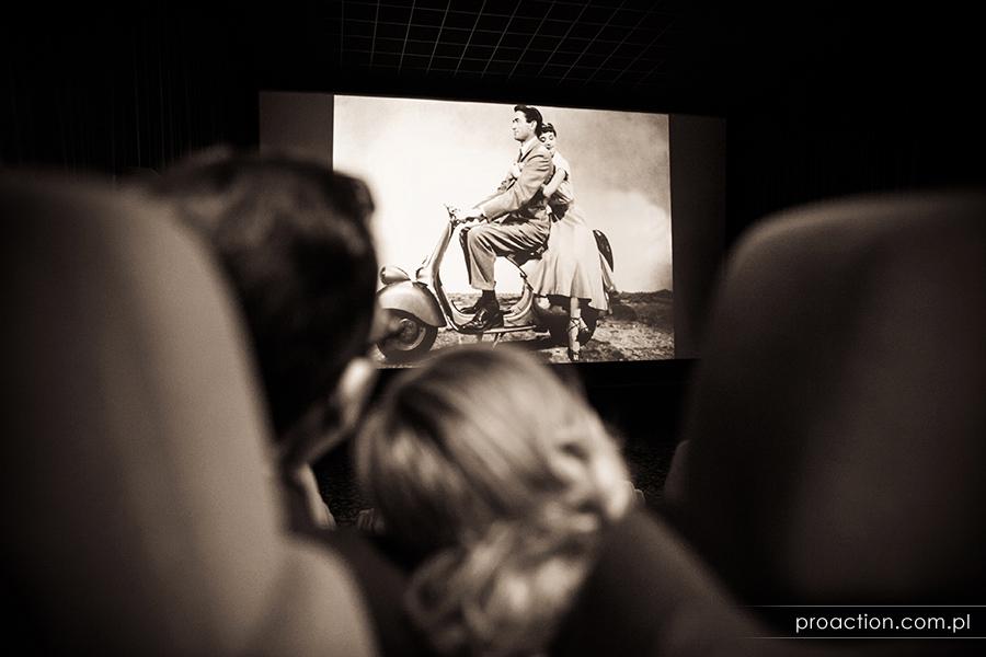 Sesja ślubna - Kino