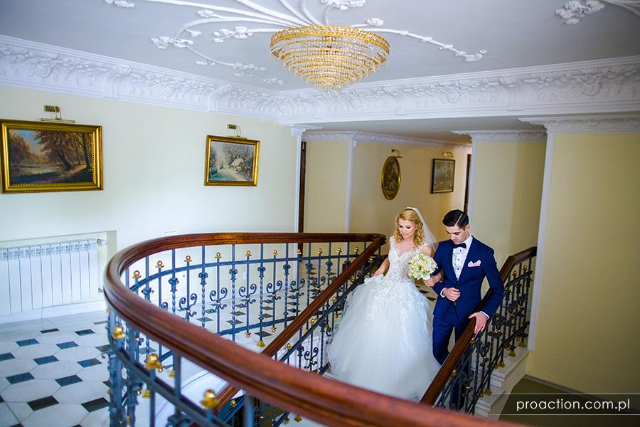 Fotografia ślubna Pałac Sulisław 36