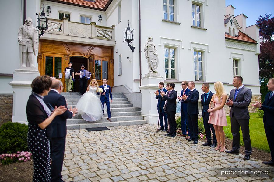 Fotografia ślubna Pałac Sulisław 38