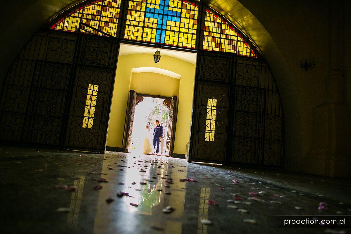 Artystyczna fotografia ślubna Pałac Brunów