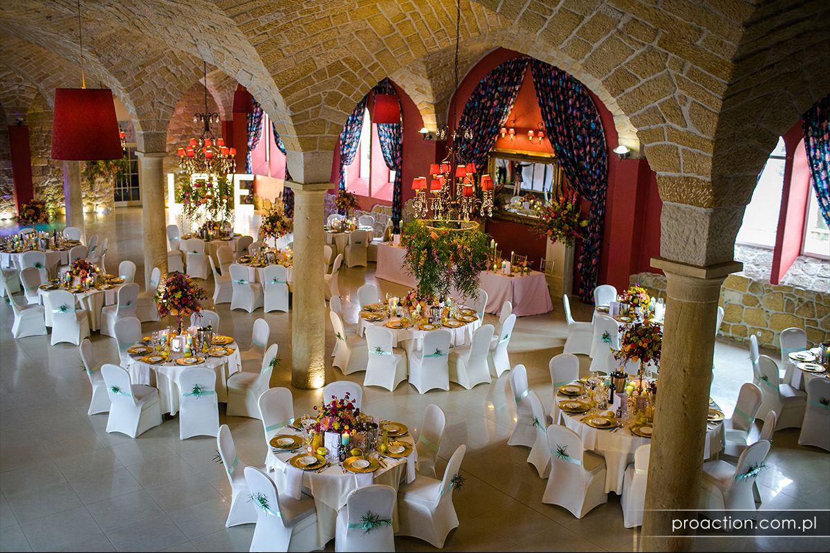 Przyjęcie weselne Pałac Brunów