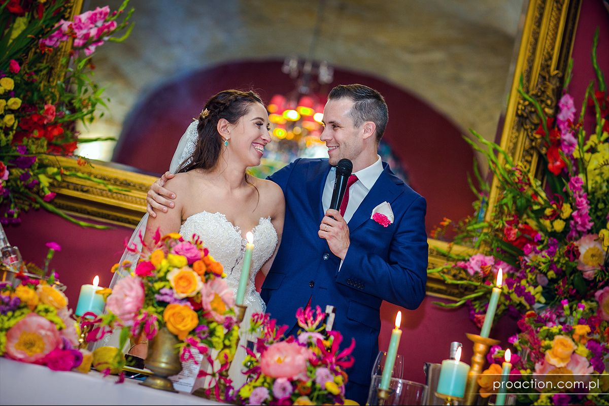 Ślubna fotografia Pałac Brunów