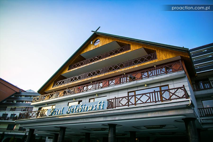 Fotografia ślubna Hotel Gołębiewski
