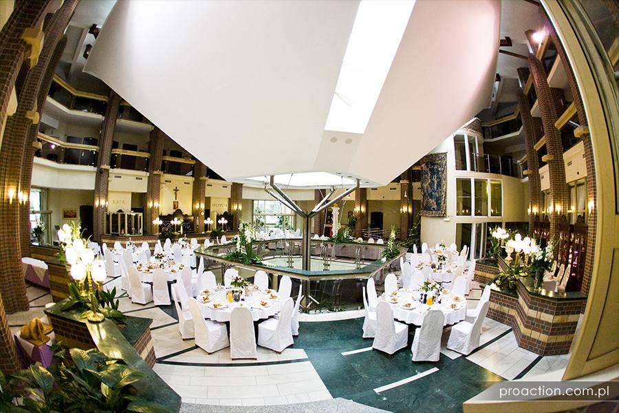 Fotografia ślubna Hotel im. Jana Pawła II we Wrocławiu