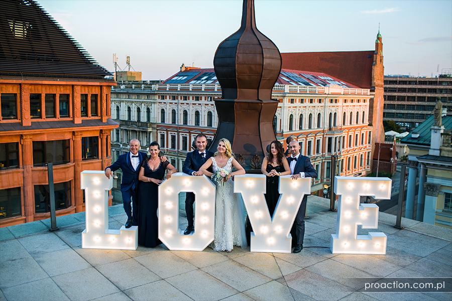Przyjęcie weselne Hotel Monopol