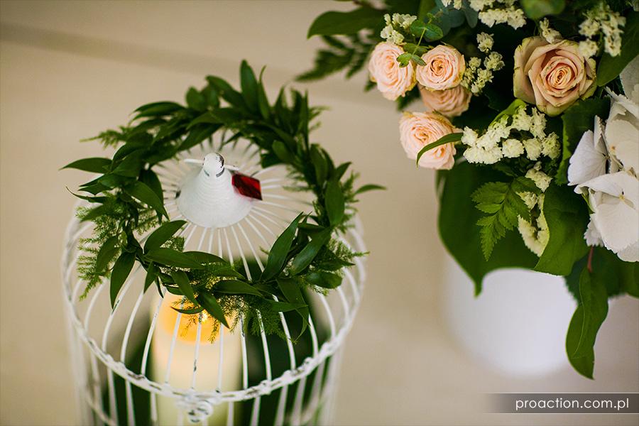 Ślub w plenerze Hotel Trzebnica