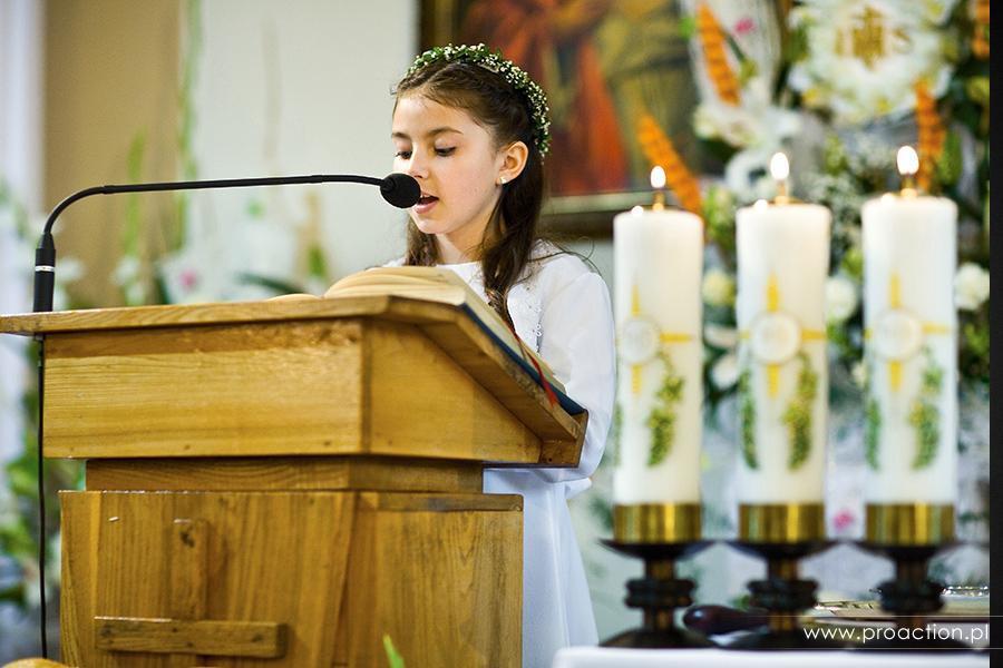 zdjęcia z I Komunii Świętej