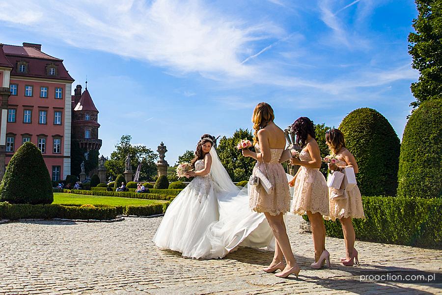 Sesja zdjęciowa Zamek Książ