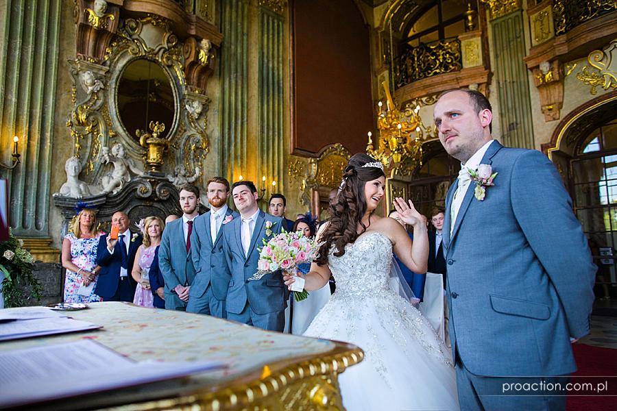 Ślub w plenerze Zamek Książ