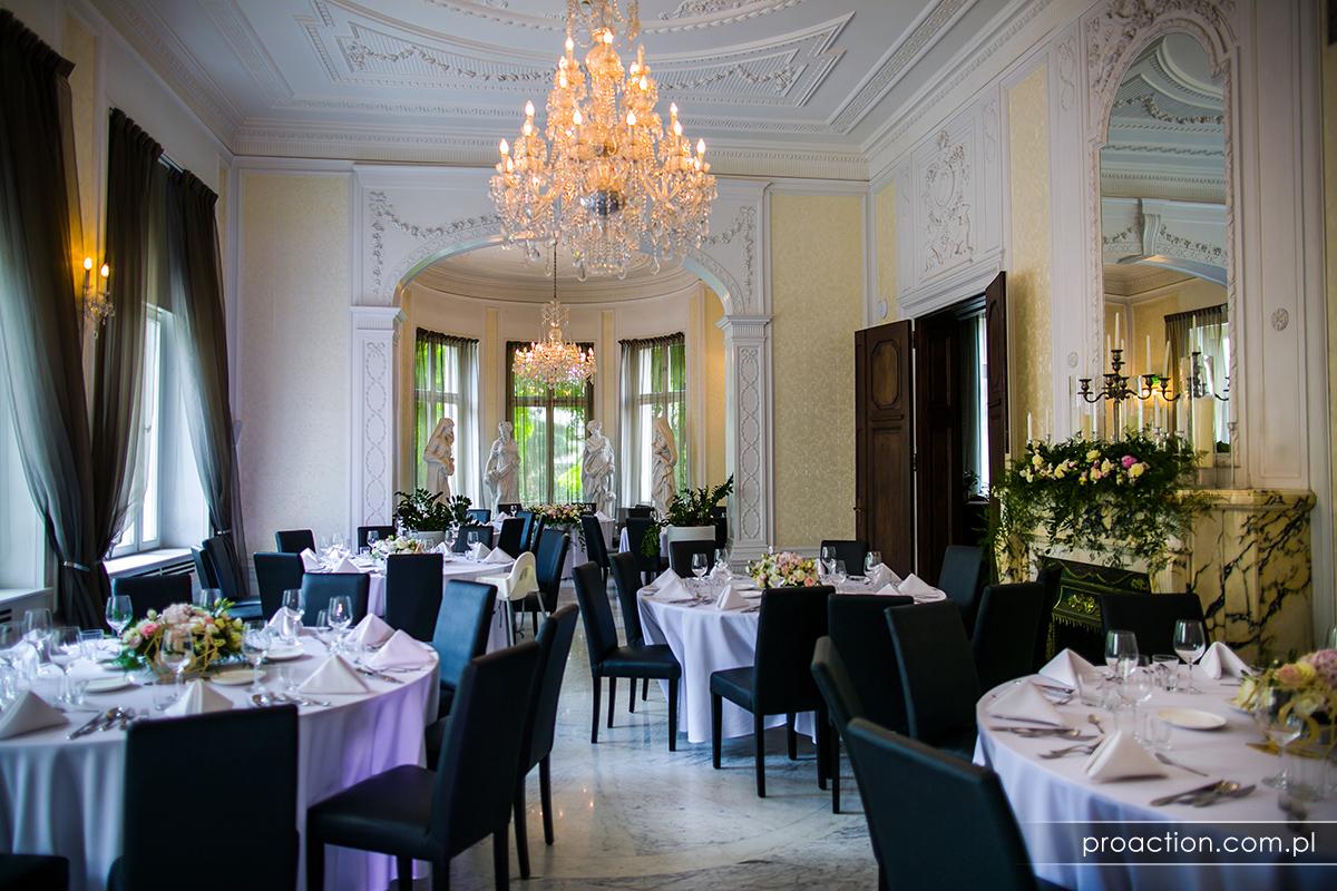 Przyjęcie weselne Platinum Palace