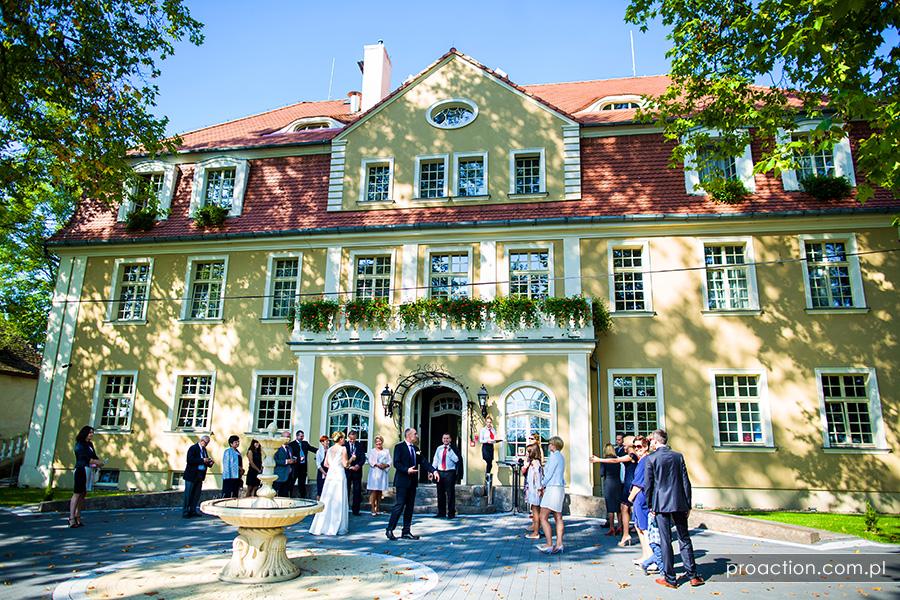 Zdjęcia ślubne Pałac Brzezina