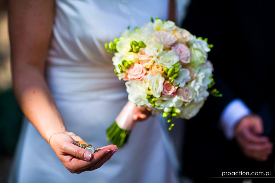 Zdjęcia ze ślubu Pałac Brzezina