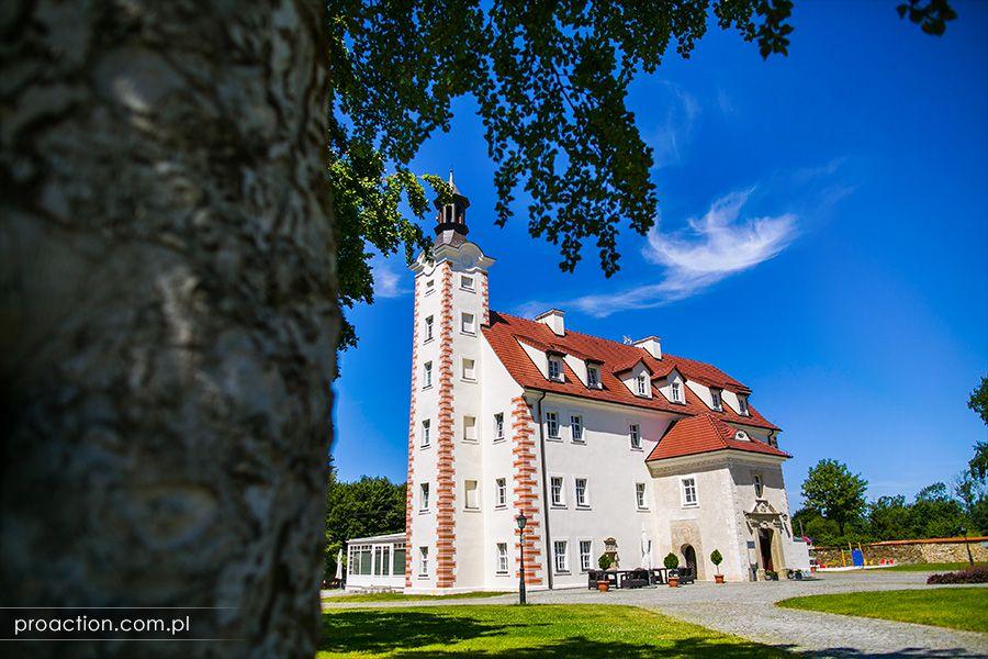 Fotografia ślubna Pałac Łagów