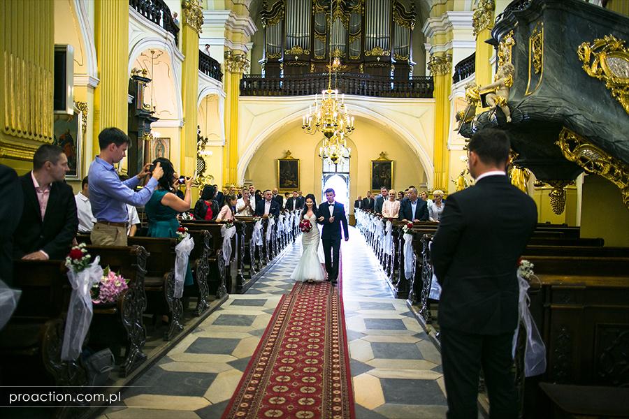 Fotografia ślubna Pałac Sulisław