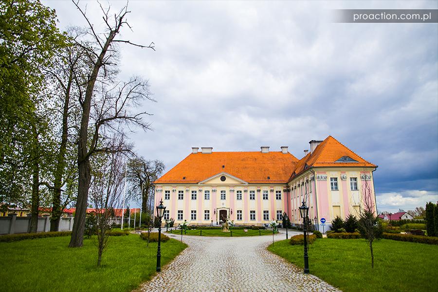Fotograf ślubny Pałac Trzebosz
