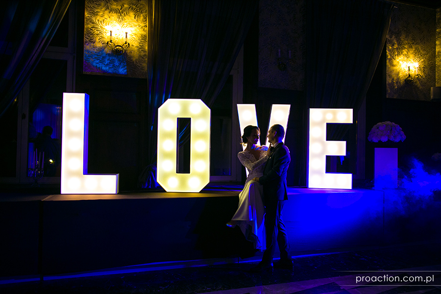 Sesja ślubna Platinum Palace