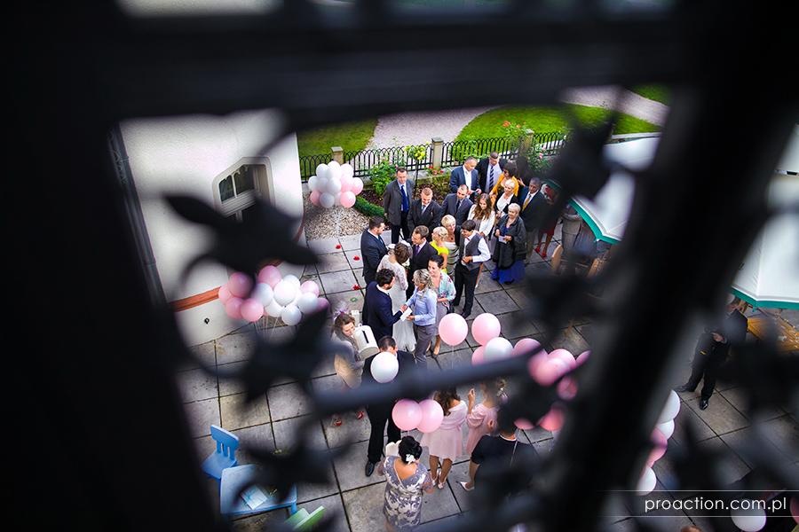 Przyjęcie weselne Pałac Wojanów