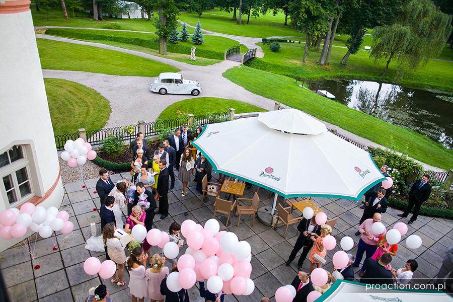 Zdjęcia ślubne Pałac Wojanów