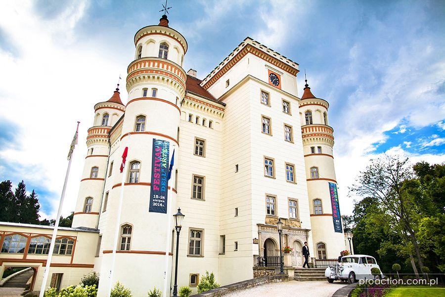 Fotografia ślubna Pałac Wojanów