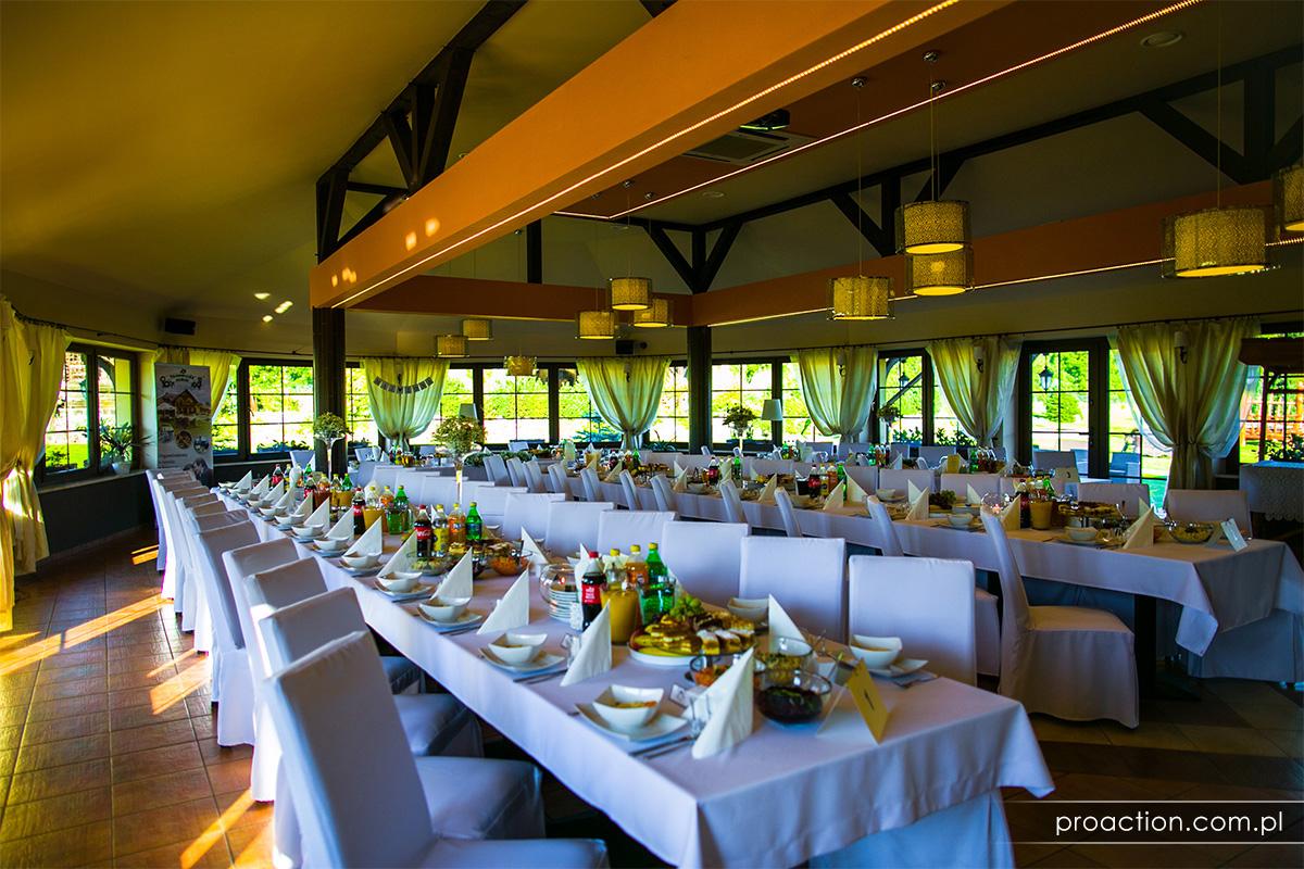 Przyjęcie weselne Restauracja Tajemniczy Ogród Szczytna