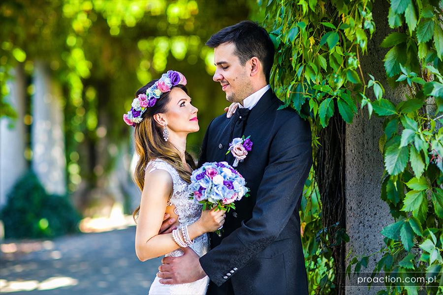 Wesele z klasą sesja ślubna