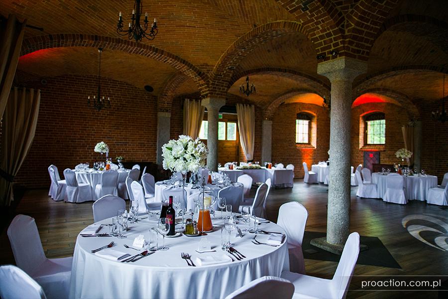Przyjęcie weselne Zamek Topacz
